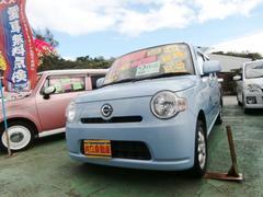 沖縄の中古車 ダイハツ ミラココア 車両価格 50万円 リ済込 平成22年 7.9万K ライトブルー