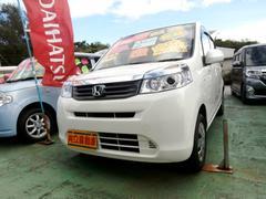 沖縄の中古車 ホンダ ライフ 車両価格 49万円 リ済込 平成24年 7.5万K パール