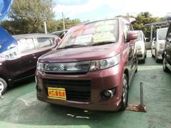 沖縄の中古車 スズキ ワゴンRスティングレー 車両価格 55万円 リ済込 平成23年 9.9万K パープル