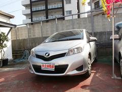 沖縄の中古車 トヨタ ヴィッツ 車両価格 69万円 リ済込 平成23年 6.2万K シルバー