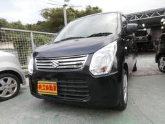 沖縄の中古車 スズキ ワゴンR 車両価格 60万円 リ済込 平成24年 4.8万K ブラック