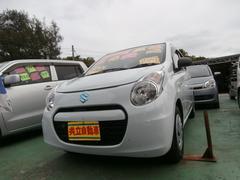 沖縄の中古車 スズキ アルトエコ 車両価格 43万円 リ済込 平成24年 6.9万K ホワイト