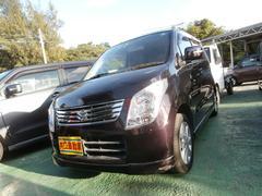 沖縄の中古車 スズキ ワゴンR 車両価格 43万円 リ済込 平成23年 8.5万K パープル