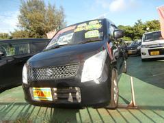 沖縄の中古車 スズキ ワゴンR 車両価格 43万円 リ済込 平成23年 9.5万K ブラック
