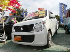 沖縄の中古車 スズキ ワゴンR 車両価格 73万円 リ済込 平成27年 7.1万K パール