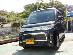 沖縄の中古車 ダイハツ タント 車両価格 63万円 リ済込 平成23年 9.6万K ブラック