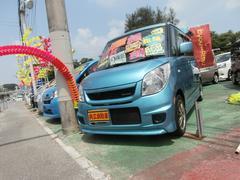 沖縄の中古車 スズキ パレット 車両価格 73万円 リ済込 平成25年 6.9万K ライトブルー