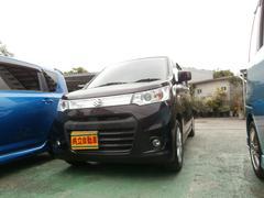 沖縄の中古車 スズキ ワゴンRスティングレー 車両価格 63万円 リ済込 平成25年 9.2万K パープル