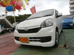 沖縄の中古車 ダイハツ ミライース 車両価格 49万円 リ済込 平成27年 8.3万K ホワイト