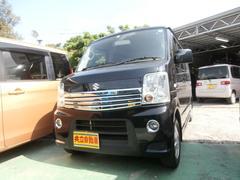 沖縄の中古車 スズキ エブリイワゴン 車両価格 73万円 リ済込 平成23年 9.9万K ブラック
