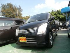 沖縄の中古車 スズキ ワゴンR 車両価格 49万円 リ済込 平成23年 9.9万K ブラック