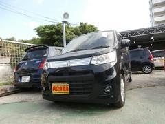 沖縄の中古車 スズキ ワゴンRスティングレー 車両価格 63万円 リ済込 平成25年 8.3万K ブラック