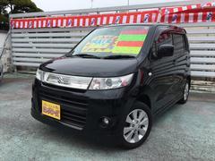 沖縄の中古車 スズキ ワゴンRスティングレー 車両価格 49万円 リ済別 平成22年 8.8万K ブラック