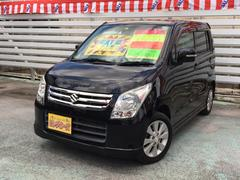 沖縄の中古車 スズキ ワゴンR 車両価格 49万円 リ済別 平成21年 8.1万K ブラック