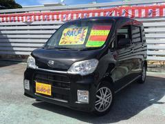 沖縄の中古車 ダイハツ タントエグゼ 車両価格 59万円 リ済別 平成22年 6.1万K ブラック