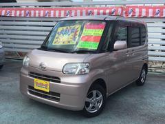 沖縄の中古車 ダイハツ タント 車両価格 39万円 リ済込 平成20年 8.4万K ピンクM