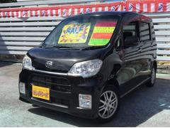 沖縄の中古車 ダイハツ タントエグゼ 車両価格 49万円 リ済別 平成22年 9.0万K ブラック