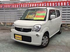沖縄の中古車 日産 モコ 車両価格 49万円 リ済別 平成24年 7.1万K スノーパールホワイト