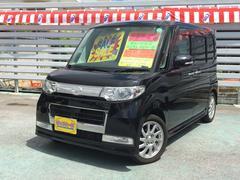 沖縄の中古車 ダイハツ タント 車両価格 49万円 リ済込 平成20年 8.8万K ブラック