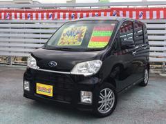 沖縄の中古車 スバル ルクラカスタム 車両価格 55万円 リ済別 平成22年 8.5万K ブラック