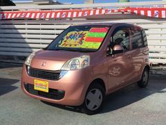 沖縄の中古車 ホンダ ライフ 車両価格 39万円 リ済別 平成20年 6.6万K ピンク