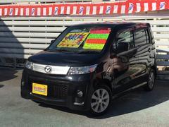 沖縄の中古車 マツダ AZワゴンカスタムスタイル 車両価格 45万円 リ済別 平成22年 7.1万K ブラック