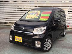 沖縄の中古車 ダイハツ ムーヴ 車両価格 39万円 リ済別 平成21年 8.6万K ブラック