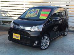 沖縄の中古車 ダイハツ ムーヴ 車両価格 59万円 リ済込 平成23年 9.8万K ブラック