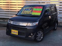 沖縄の中古車 スズキ ワゴンRスティングレー 車両価格 49万円 リ済別 平成21年 7.3万K ブラック