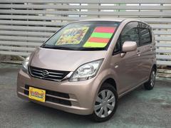 沖縄の中古車 ダイハツ ムーヴ 車両価格 29万円 リ済別 平成20年 8.6万K ピンク