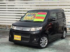 沖縄の中古車 スズキ ワゴンRスティングレー 車両価格 39万円 リ済別 平成20年 9.4万K ブラック