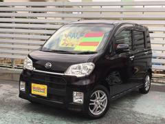 沖縄の中古車 ダイハツ タントエグゼ 車両価格 49万円 リ済別 平成22年 9.9万K ブラック