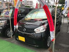 沖縄の中古車 日産 デイズ 車両価格 64万円 リ済込 平成25年 7.3万K ブラック
