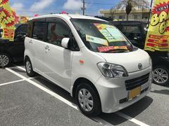 沖縄の中古車 ダイハツ タントエグゼ 車両価格 54万円 リ済込 平成22年 7.2万K パールホワイトIII
