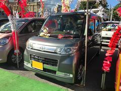 沖縄の中古車 ダイハツ タント 車両価格 61万円 リ済込 平成21年 7.3万K グレー