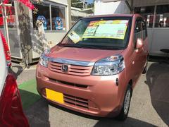 沖縄の中古車 ホンダ ライフ 車両価格 53万円 リ済込 平成25年 5.8万K ピンク