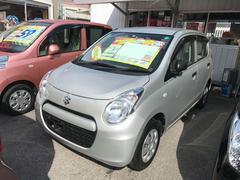 沖縄の中古車 スズキ アルト 車両価格 39万円 リ済込 平成24年 4.6万K シルバー