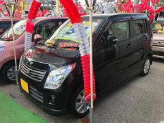 沖縄の中古車 スズキ ワゴンR 車両価格 49万円 リ済込 平成23年 8.7万K ブルーイッシュブラックパール3