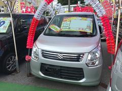 沖縄の中古車 スズキ ワゴンR 車両価格 49万円 リ済込 平成25年 7.2万K シルバー