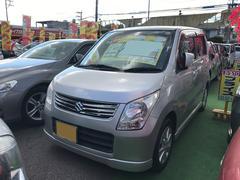 沖縄の中古車 スズキ ワゴンR 車両価格 41万円 リ済込 平成22年 8.3万K シルキーシルバーメタリック