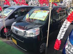 沖縄の中古車 ホンダ ライフ 車両価格 51万円 リ済込 平成23年 7.5万K ブラック