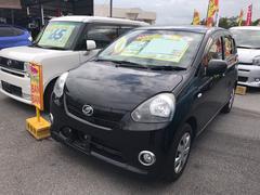 沖縄の中古車 ダイハツ ミライース 車両価格 47万円 リ済込 平成24年 7.1万K ブラック