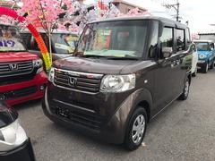 沖縄の中古車 ホンダ N BOX 車両価格 71万円 リ済込 平成24年 8.6万K プレミアムブロンズパールII