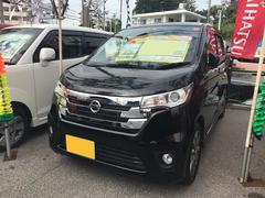 沖縄の中古車 日産 デイズ 車両価格 74万円 リ済込 平成26年 4.6万K ブラック