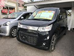 沖縄の中古車 スズキ ワゴンRスティングレー 車両価格 71万円 リ済込 平成25年 6.3万K ブラック