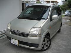 沖縄の中古車 ダイハツ ムーヴ 車両価格 17万円 リ済込 平成15年 18.1万K ゴールドM
