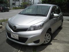 沖縄の中古車 トヨタ ヴィッツ 車両価格 79万円 リ済込 平成24年 4.0万K シルバーM