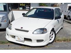 沖縄の中古車 ホンダ シビック 車両価格 159万円 リ済込 平成12年 7.7万K ホワイトII
