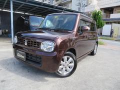 沖縄の中古車 スズキ アルトラパン 車両価格 55万円 リ済込 平成22年 7.2万K ブラウン
