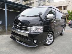 沖縄の中古車 トヨタ ハイエースワゴン 車両価格 225万円 リ済込 平成21年 7.4万K ブラック